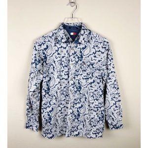 Tommy Hilfiger Vintage 90s Paisley LS Shirt
